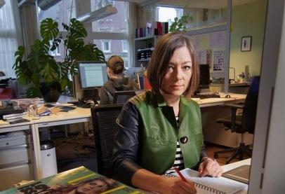 Elle redactie interview Cecile Narinx