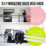 DIY: Tijdschriftenrek van IKEA-onderdelen