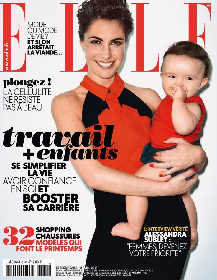 Cover ELLE France april 2013