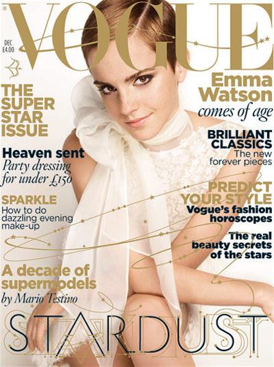 Emma Watson for VOGUE UK December 2010