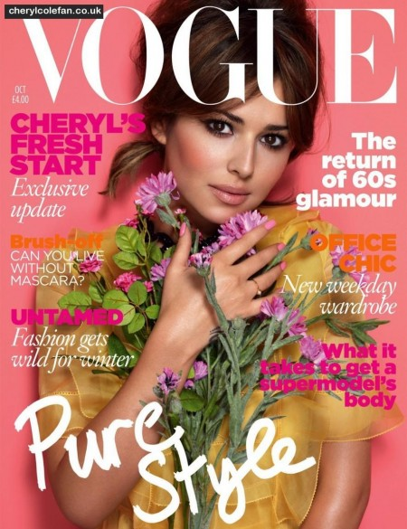 Cheryl Cole Vogue cover october 2010