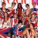 Slecht verkochte Britse Vogue-covers