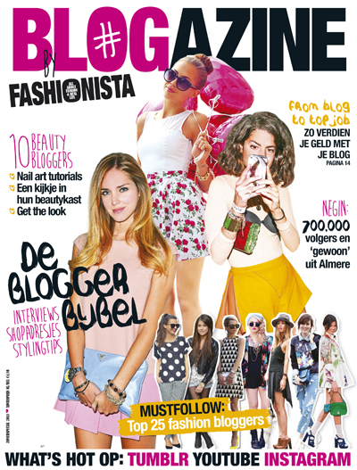 BLOGazine cover juni 2013