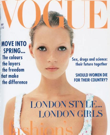 Kate Moss by Corinne Day - VOGUE march 1993
