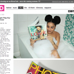 Herlancering website i-D Magazine over vier dagen