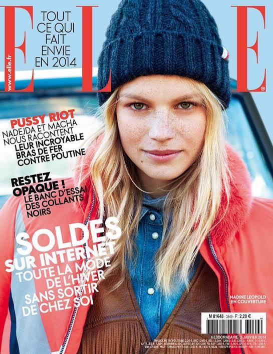 ELLE France jan 14