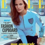 Internationale ELLE-covers in de buitenlucht