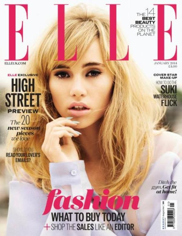 ELLE UK january 2014 suki