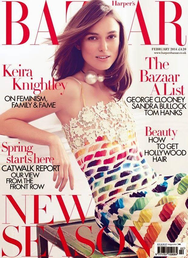 Harper's Bazaar UK february 2014