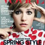 Heisa rond Vogue-cover met Lena Dunham