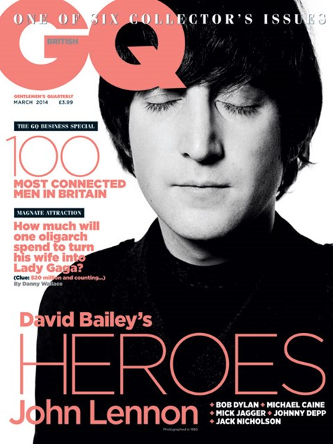 GQ UK march 2014 John Lennon