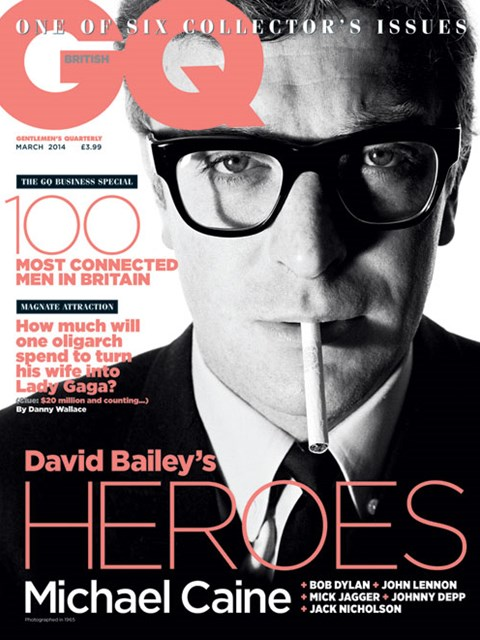 GQ UK march 2014 Michael Caine