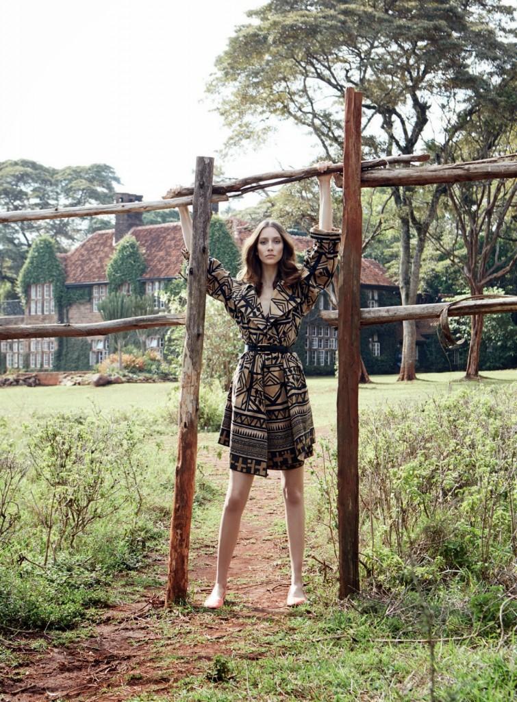Harper's Bazaar UK march 2014
