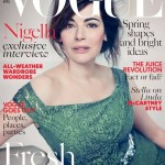 Cover: Nigella Lawson siert de Britse Vogue