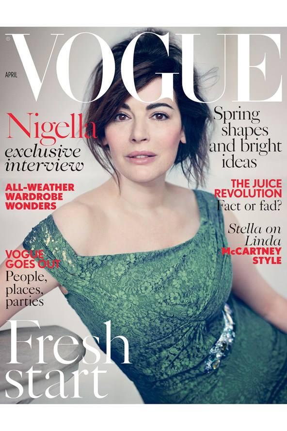 Nigella Lawson Vogue UK march 2014