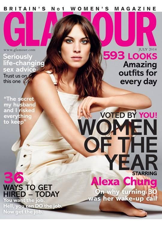 glamour uk july 2014