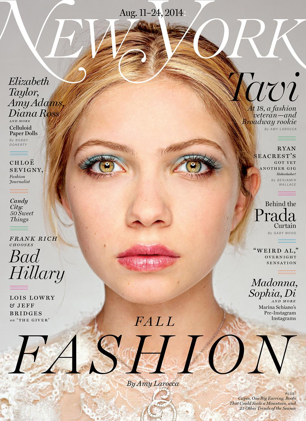 New York Magazine august 2014 Tavi Gevinson