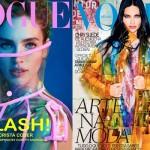 Vrolijke herfstcovers: Vogue Türkiye en Vogue Brasil