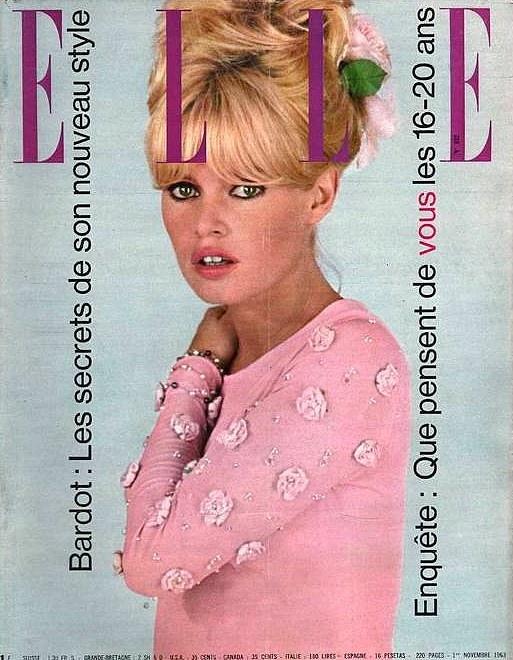 BB ELLE France 1963