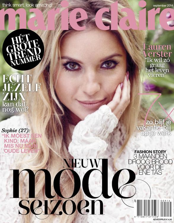 Marie Claire Nederland september 2014