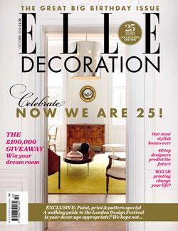 Elle Decoration UK 25th