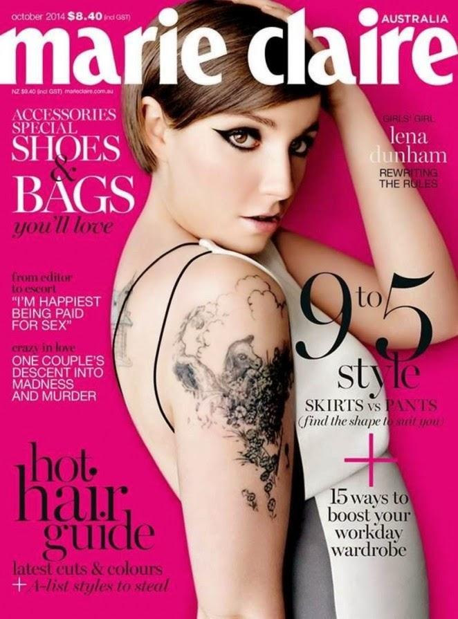 Lena-Dunham -Marie-Claire-Australia-Cover-2014