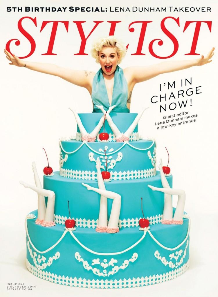 stylist magazine lena dunham