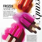 Beautyproductie: Frozen Assets – Fashion Magazine