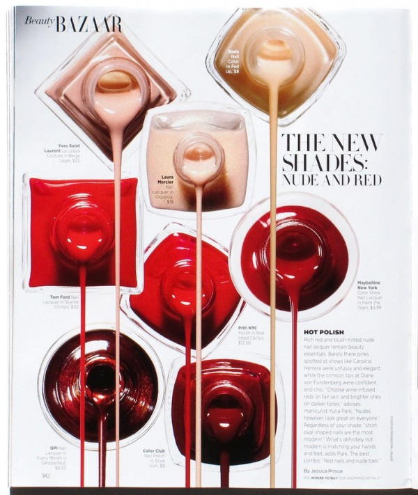 nailpolish beauty editorial harpers bazaar