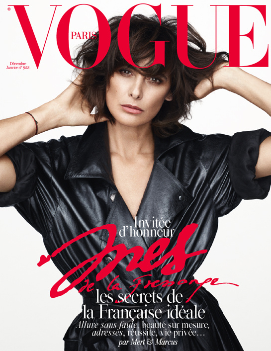 vogue paris ines de la fressange
