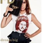 Cover: Carine Roitfeld voor i-D Magazine