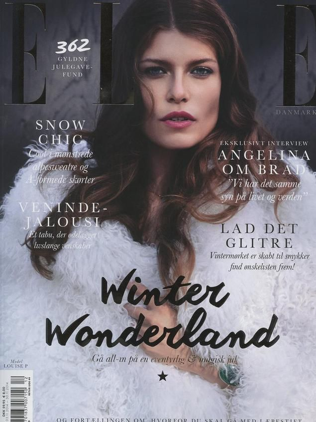 ELLE Denmark december 2014