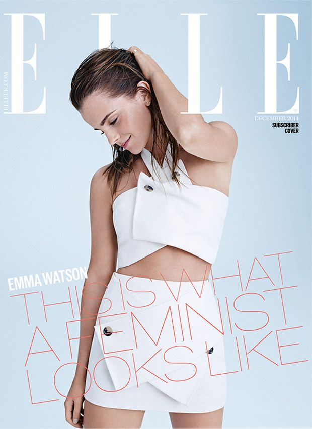 ELLE UK Emma edition december 2014