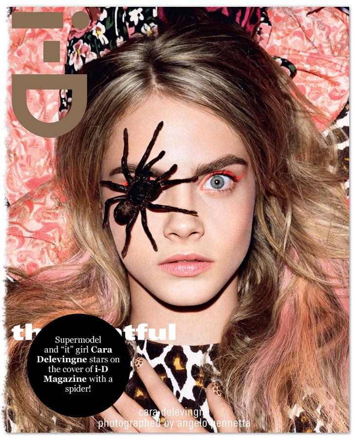 Cara Delevingne i-D magazine