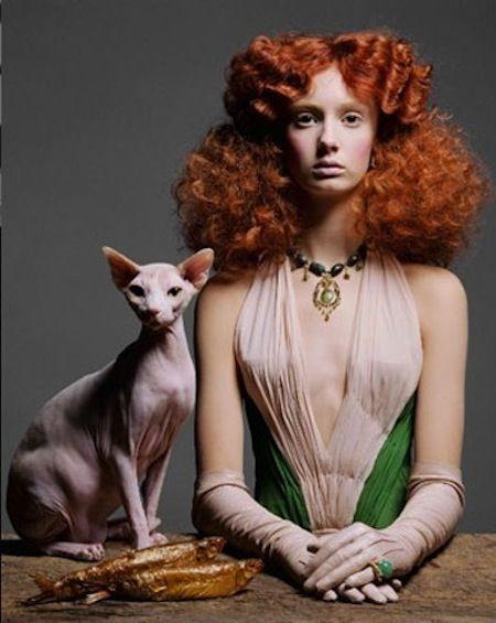 Italian Vogue 2004