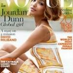 Jourdan Dunn eerste donkere model in 12 jaar dat Britse Vogue-cover siert