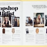 Lay-out inspriratie: Topshop Magazine