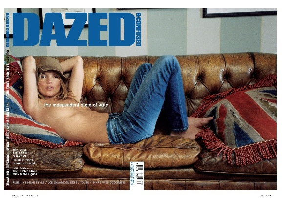 dazed cover mei 2007