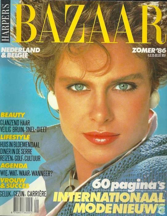 Harpers Bazaar 1986
