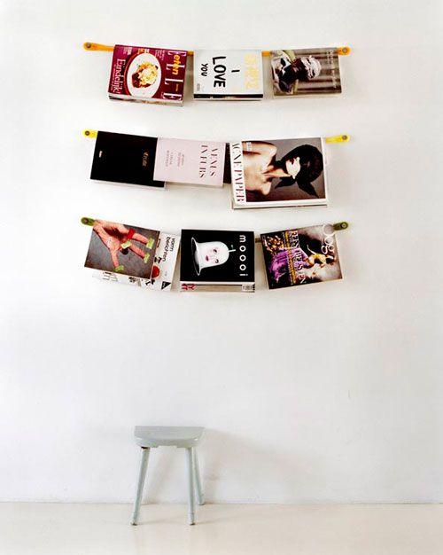 tijdschriften wall