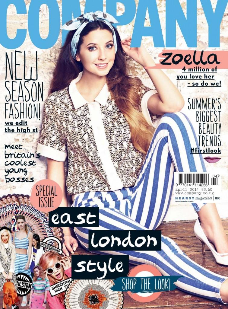 Zoella company magazine