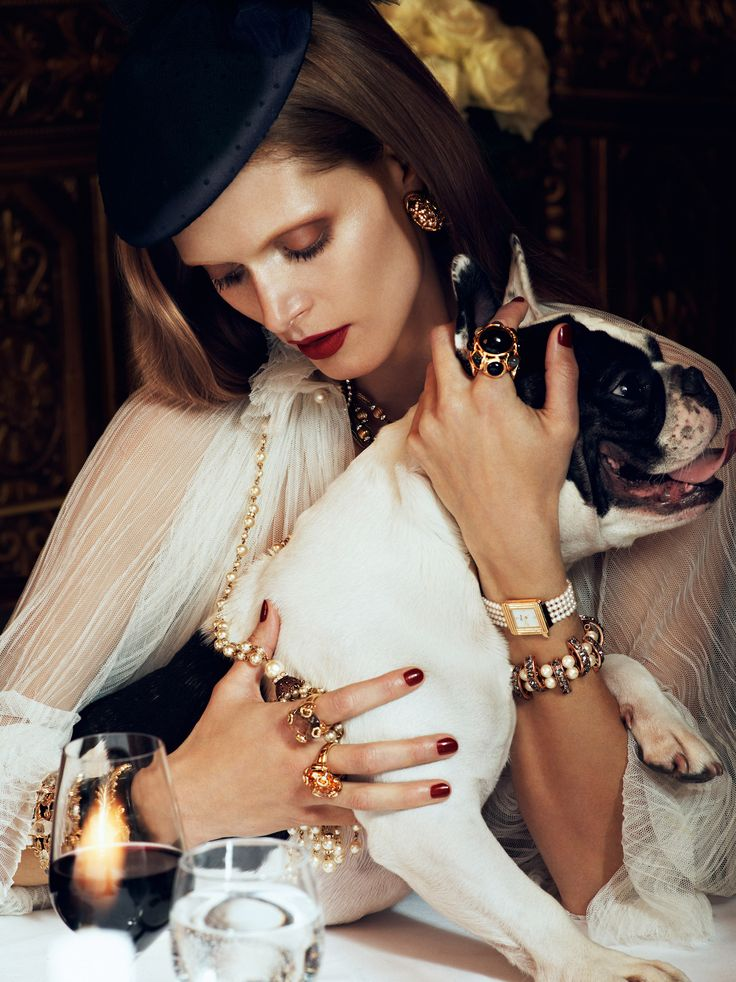 vogue paris puppy love