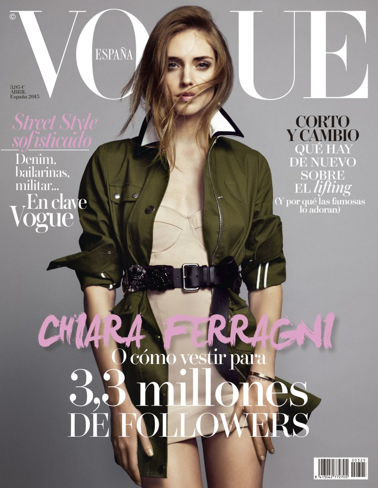 vogue spain chiara ferragni