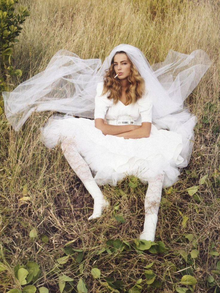 Daria Werbowy Vogue Paris April 2006