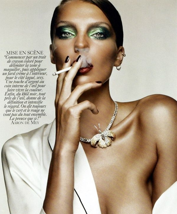 Daria Werbowy Vogue Paris