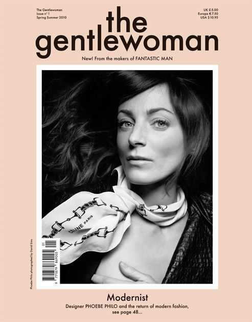 the gentlewoman cover phoebe philo 2010